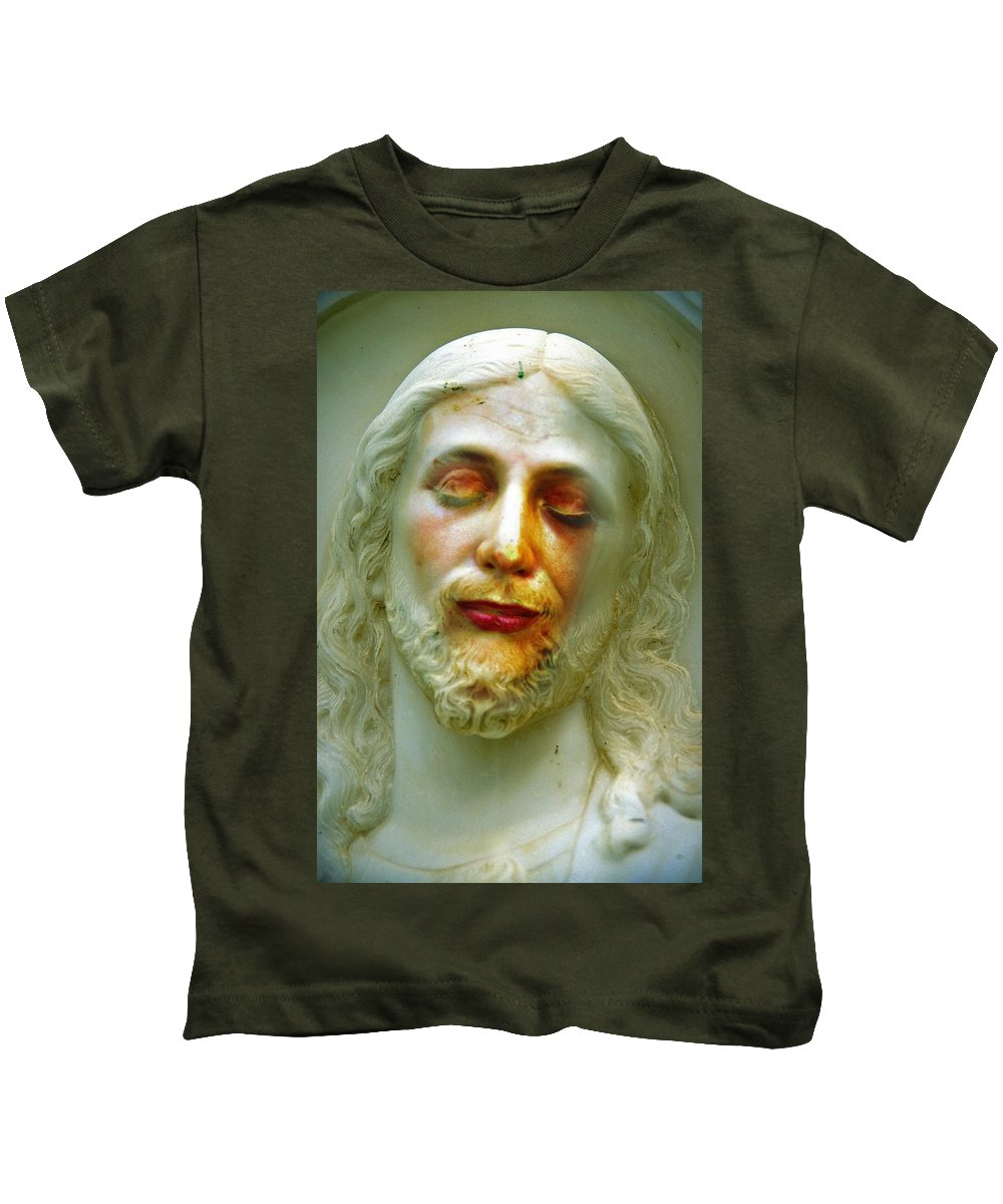 Jesus Kids T-Shirt featuring the photograph Shesus by Skip Hunt