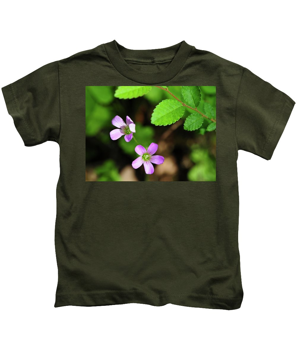 Flower Kids T-Shirt featuring the photograph Simple Beauty II by Stephen Anderson