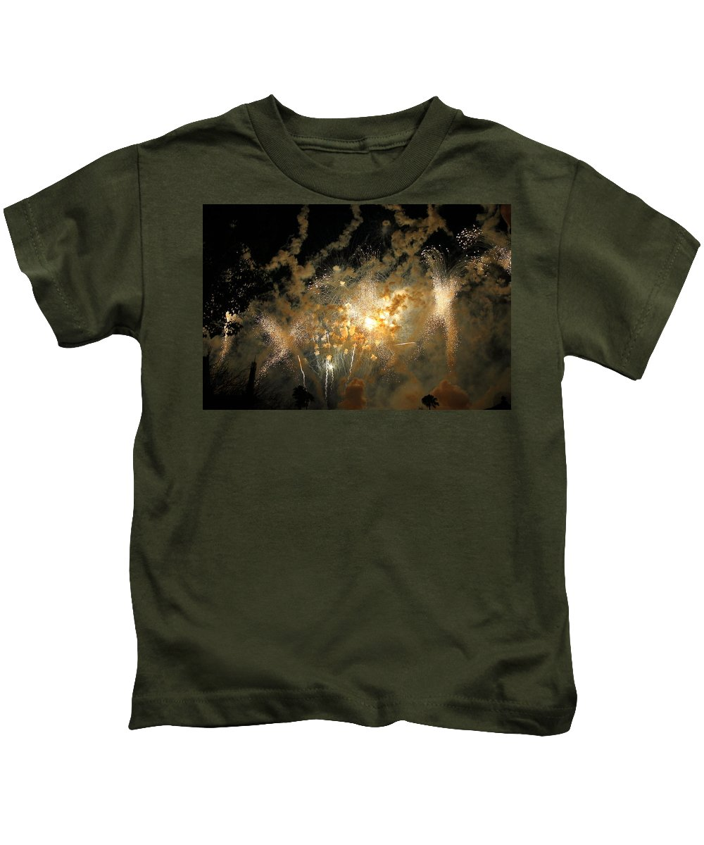 Scenic Kids T-Shirt featuring the photograph Skylight by David Rosenthal