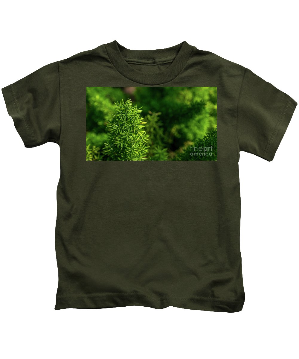 Plants Kids T-Shirt featuring the photograph Small Plants by Que Siam