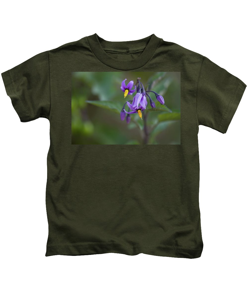 wild Flowers Kids T-Shirt featuring the photograph Small Wonder by Paul Mangold