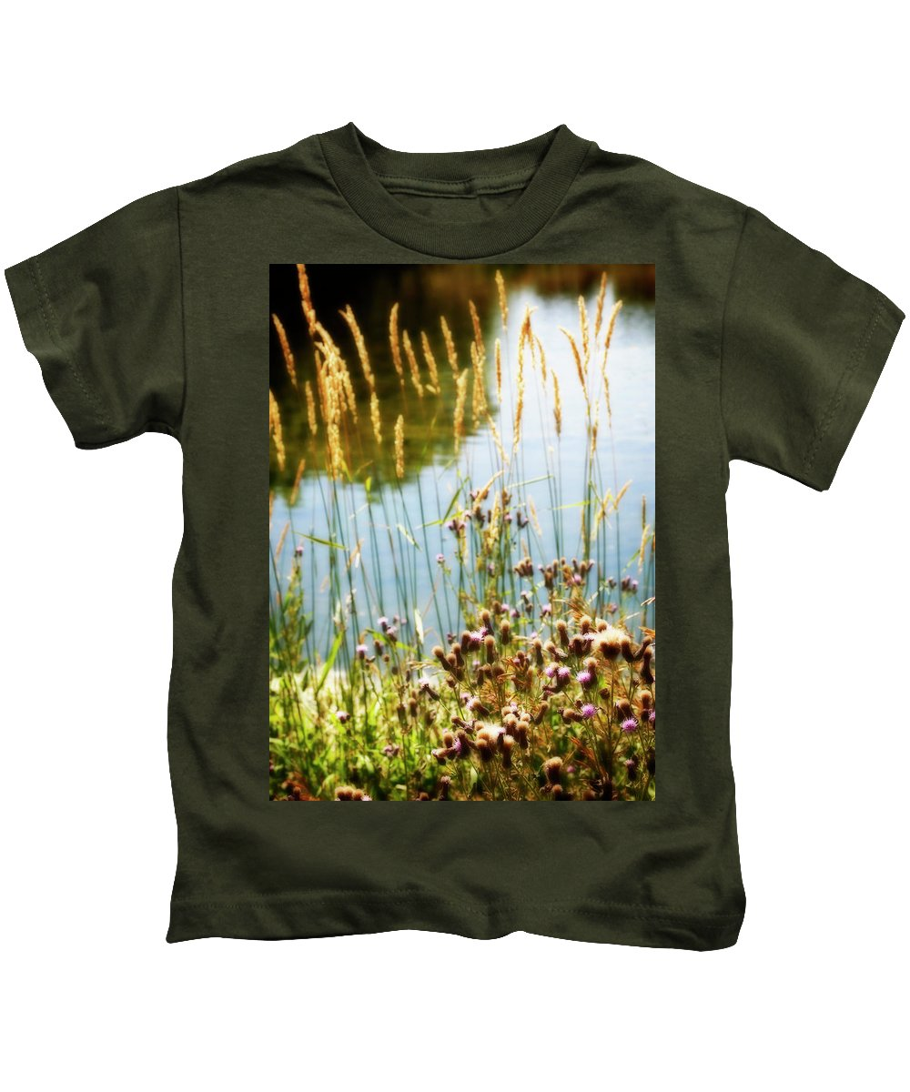 Soft Kids T-Shirt featuring the photograph Soft And Surreal by Marilyn Hunt