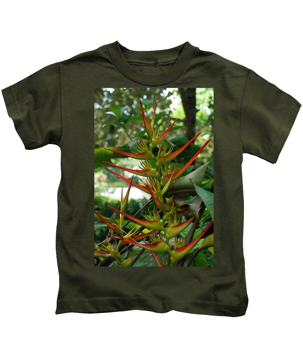 Spike Kids T-Shirt featuring the photograph Spike Plants by Rob Hans