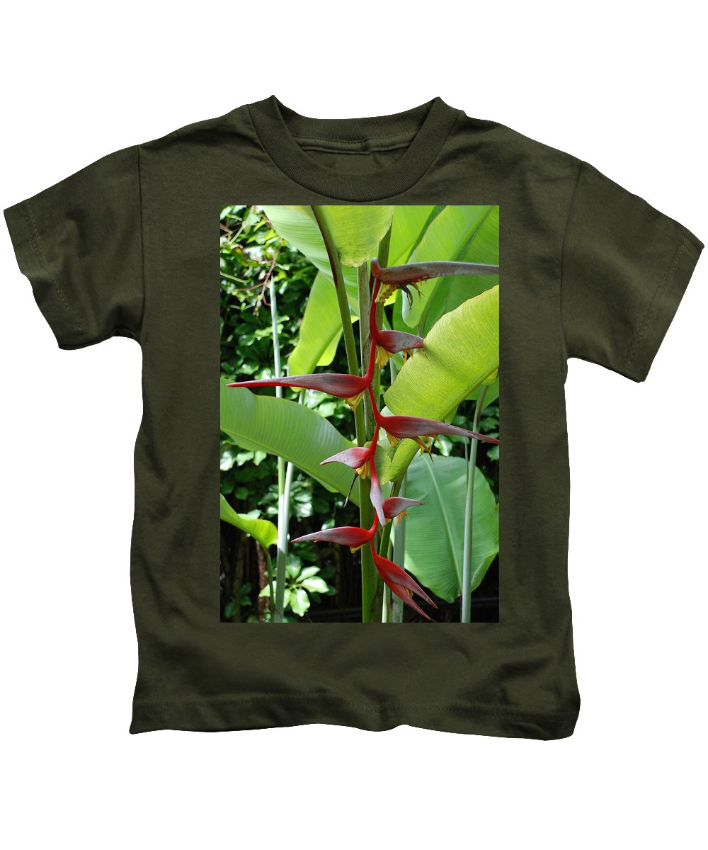 Macro Kids T-Shirt featuring the photograph Spike Tree by Rob Hans