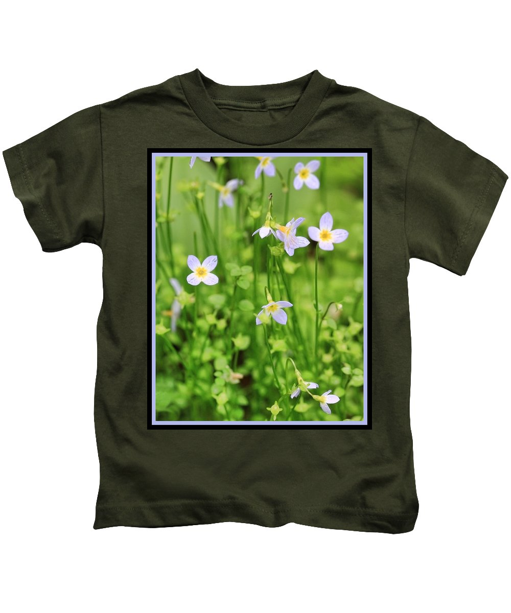 Flowers Kids T-Shirt featuring the photograph Spring Beauties by Shari Jardina