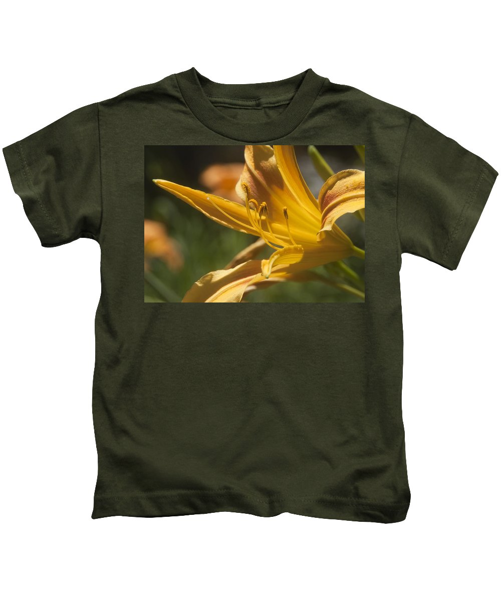 Flower Kids T-Shirt featuring the photograph Stamin by Steven Natanson
