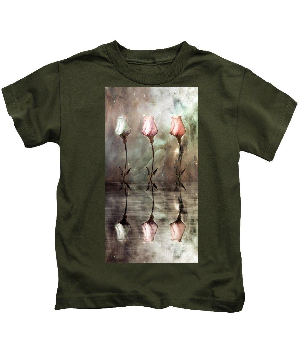 Floral Kids T-Shirt featuring the photograph Still by Jacky Gerritsen