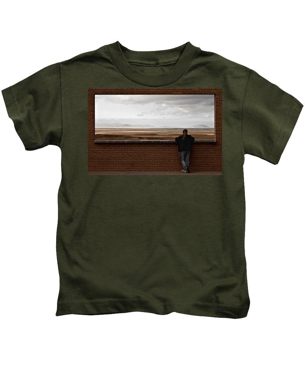 Storm Kids T-Shirt featuring the photograph Storm View by Scott Sawyer