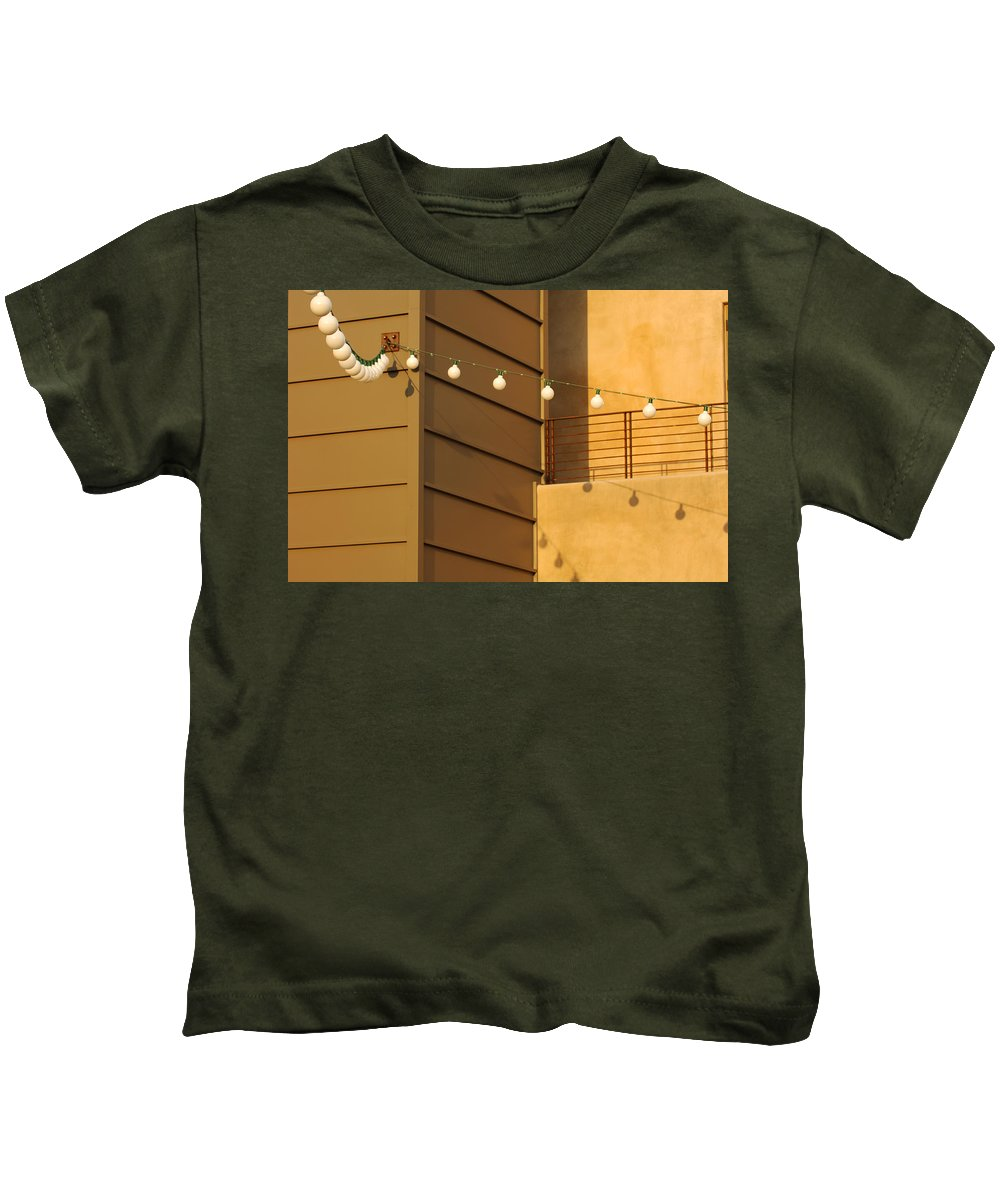 Color Kids T-Shirt featuring the photograph String Of Ideas by Jill Reger