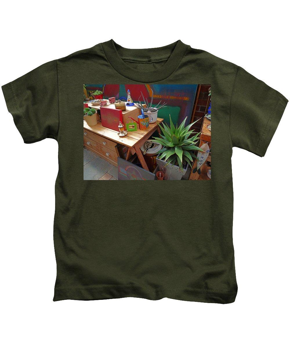Studio Kids T-Shirt featuring the photograph Studio Still 3 by Charles Stuart