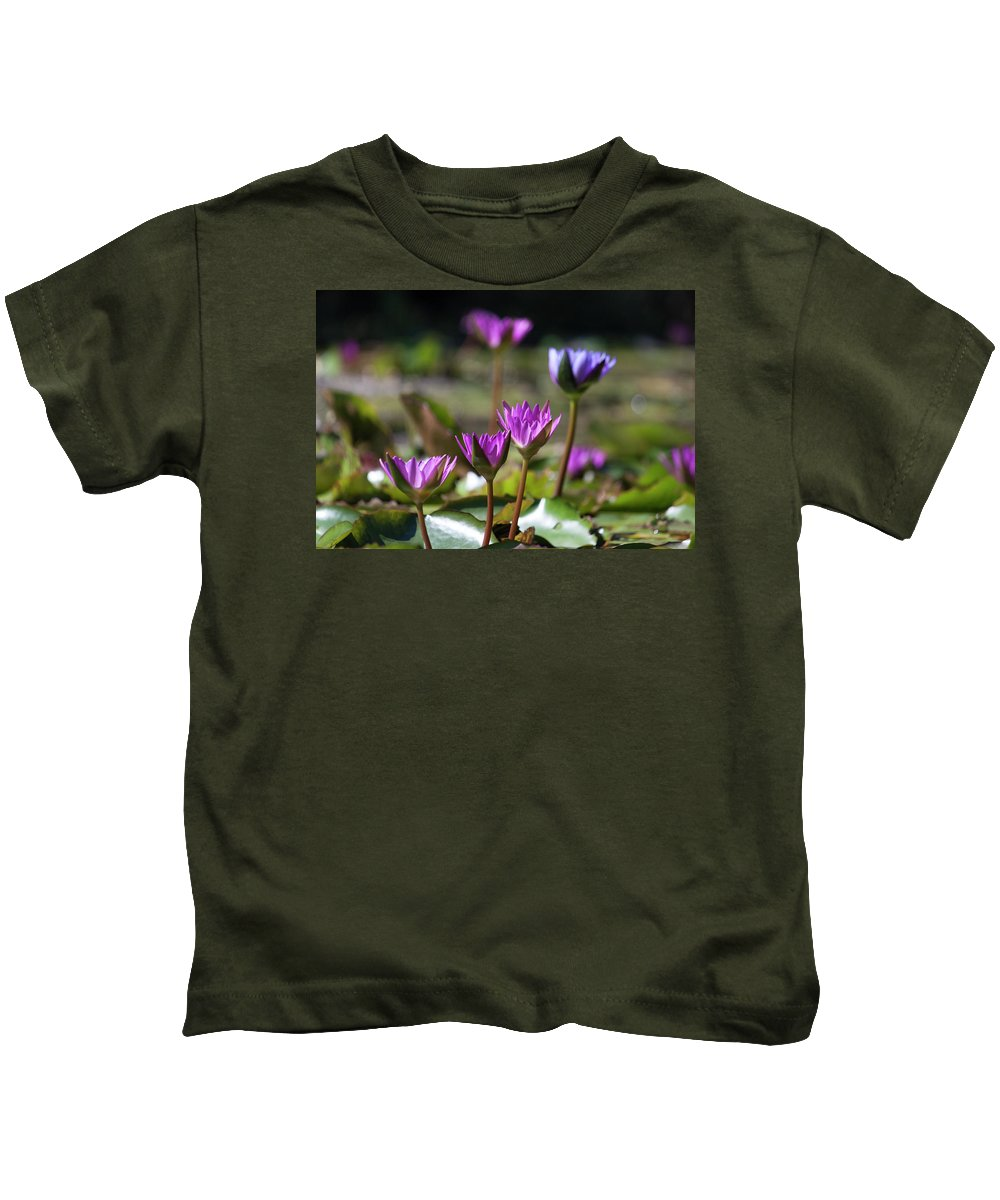 Photograph Kids T-Shirt featuring the photograph Stuff Of Dreams by Suzanne Gaff