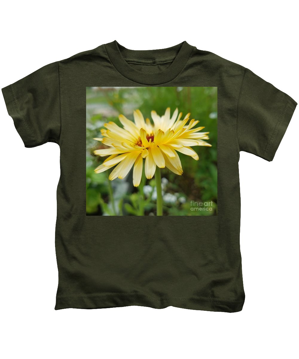 Summer Bloom Kids T-Shirt featuring the photograph Summer Bloom by Maria Urso