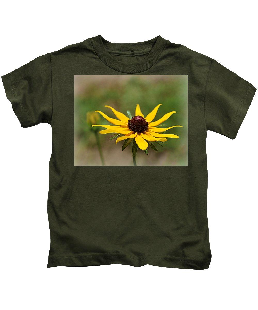 Flower Kids T-Shirt featuring the photograph Sun Worshiper by Cricket Hackmann