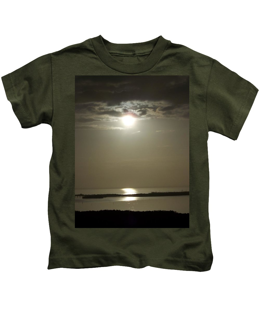 Sunset Kids T-Shirt featuring the photograph Sunset 0068 by Laurie Paci
