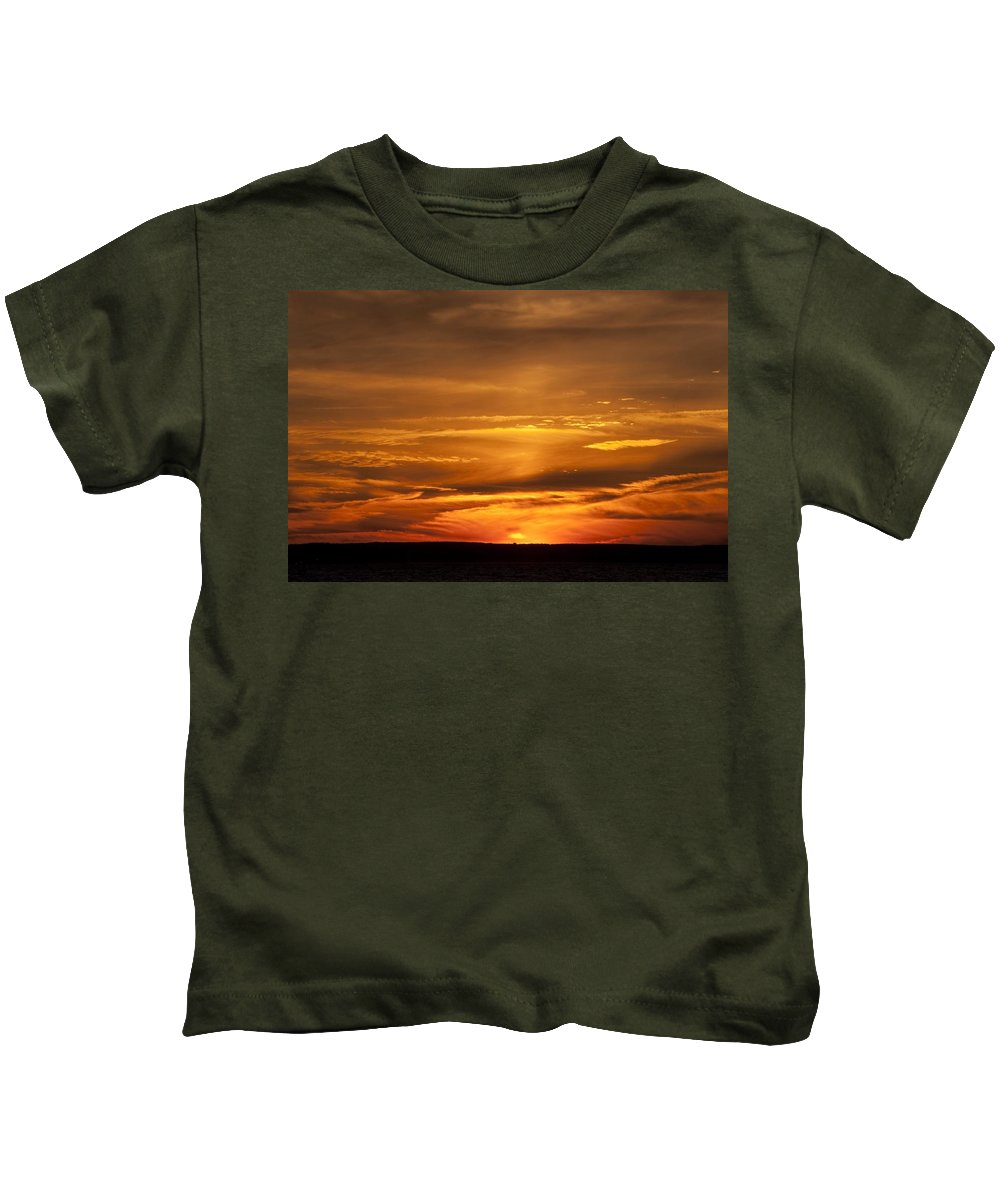 Sunset Kids T-Shirt featuring the photograph Sunset Gate 17 by Steven Natanson