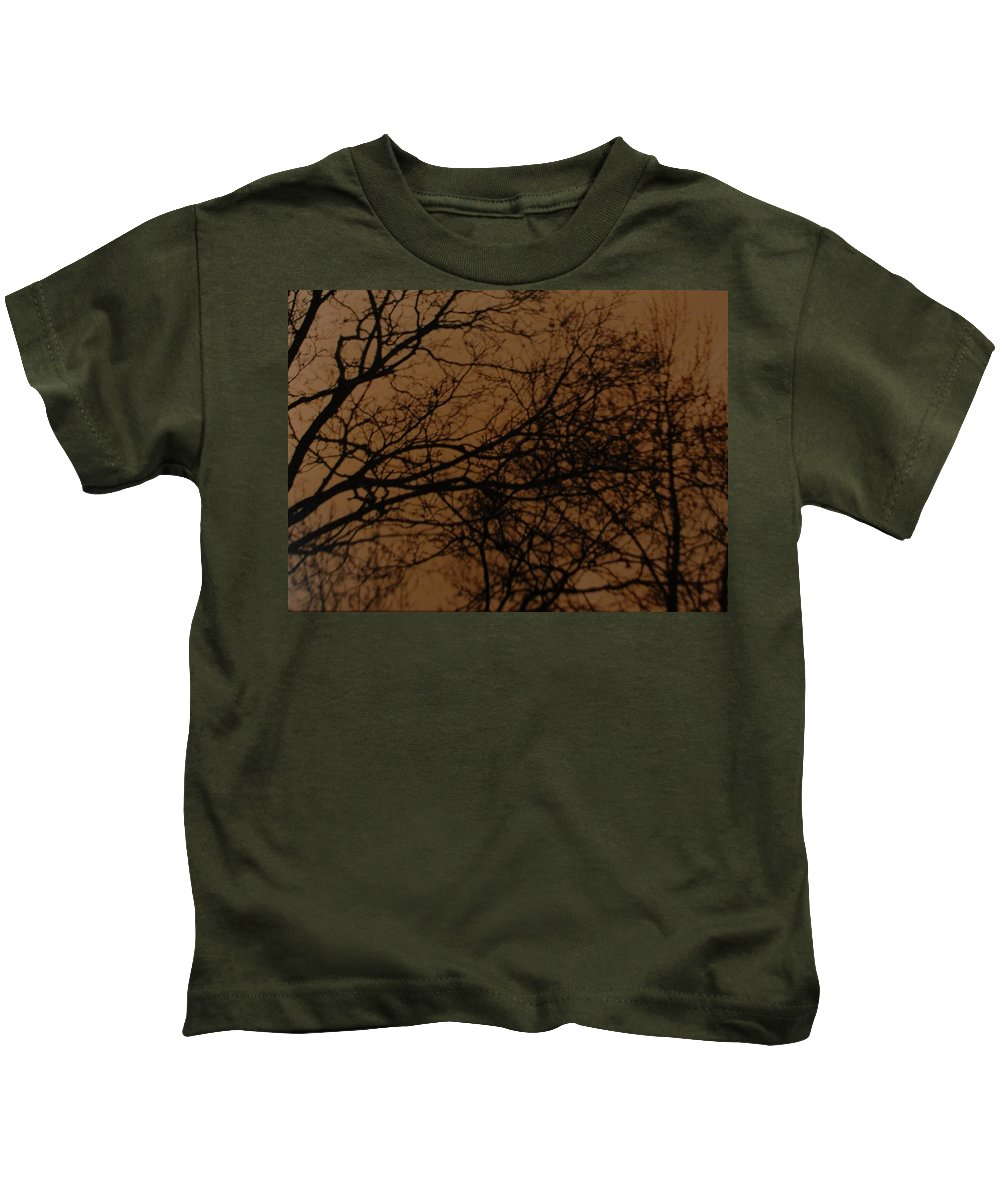 Landscape Kids T-Shirt featuring the photograph Sunset Winter by Rob Hans