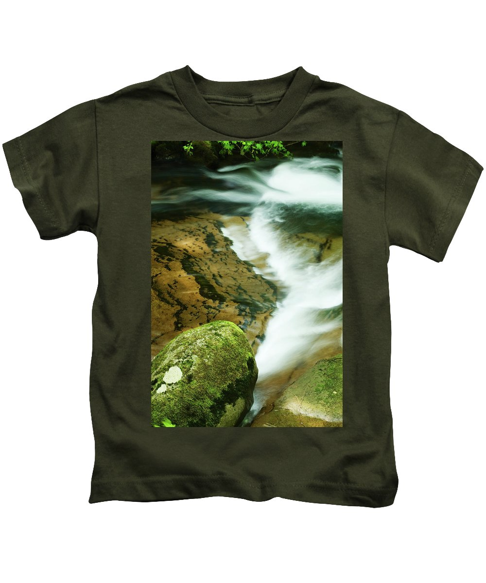 Oregon Kids T-Shirt featuring the photograph Sweet Creek by Renee Hong