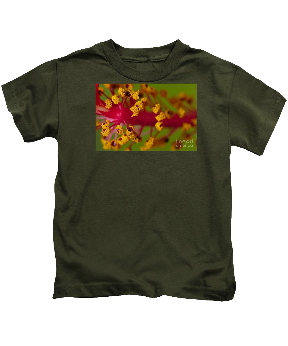 Flower Kids T-Shirt featuring the photograph Sweet Pollen 2 by Angelo DeVal