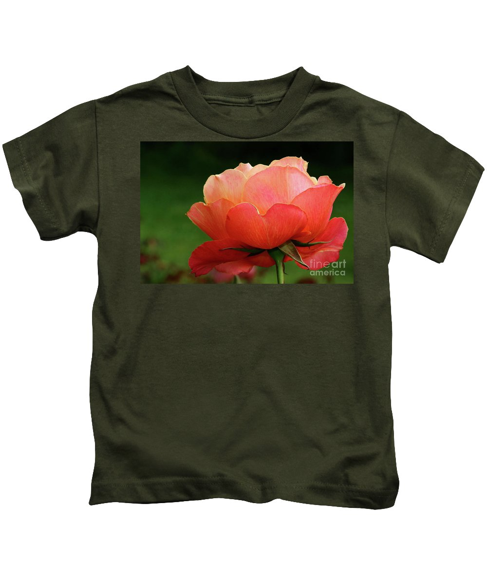 Rose Kids T-Shirt featuring the photograph The Beauty Of A Rose by Christiane Schulze Art And Photography
