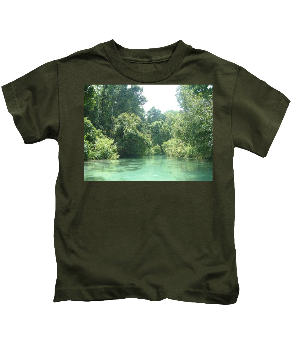 Florida Kids T-Shirt featuring the photograph The Florida Calm by Jost Houk