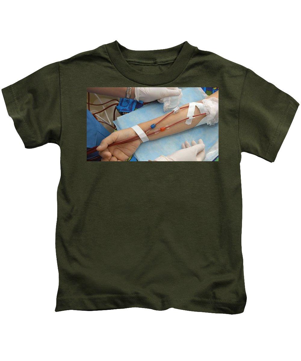 The Healthcare Institute Kids T-Shirt featuring the photograph The Healthcare Institute by Thehealthcare Institute