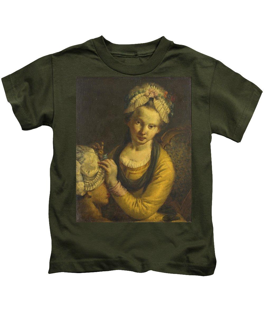 Francesco Zugno Kids T-Shirt featuring the painting The Milliner by Francesco Zugno