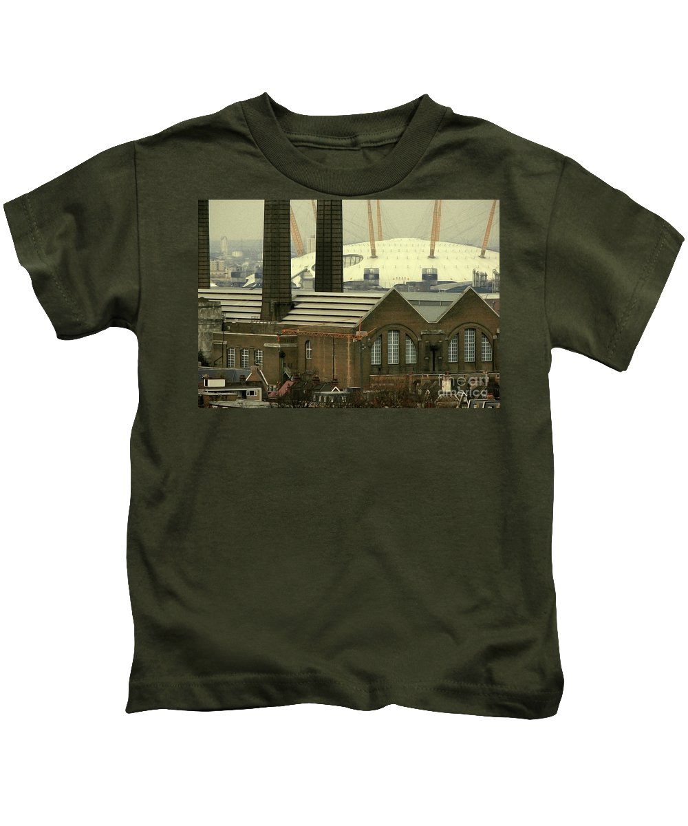 Old Kids T-Shirt featuring the photograph The Old Factory by Christo Christov