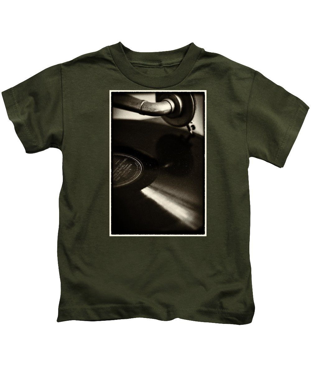 33rpm Record Kids T-Shirt featuring the photograph The Old Vic by Karen Hanley Colbert