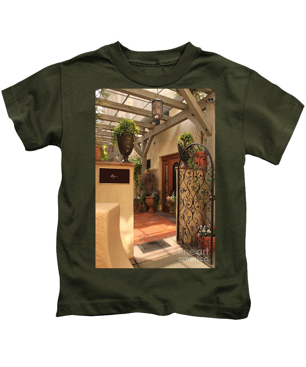 Spa Kids T-Shirt featuring the photograph The Spa by James Eddy