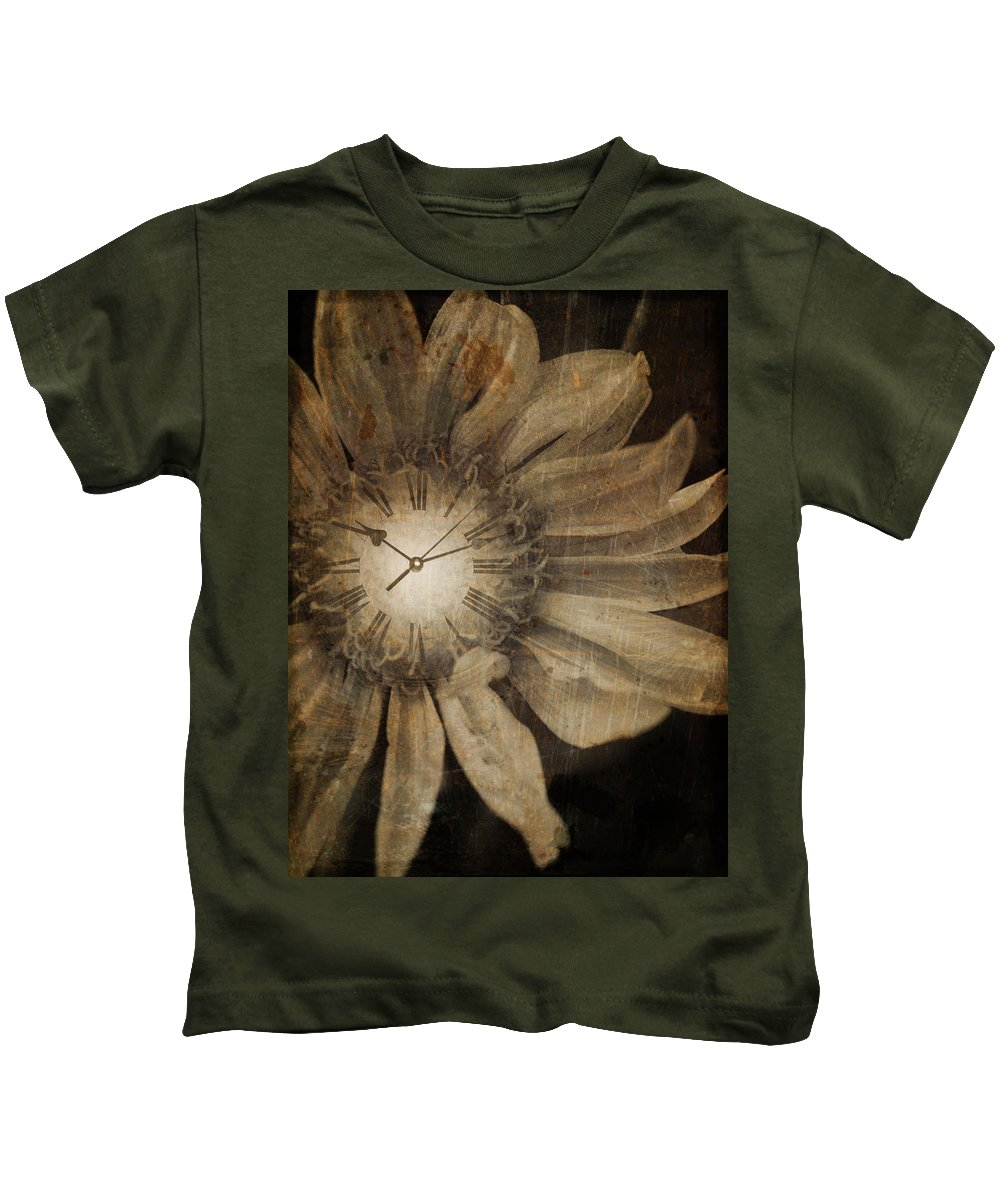Clock Kids T-Shirt featuring the photograph The Time Keeper by Tara Turner