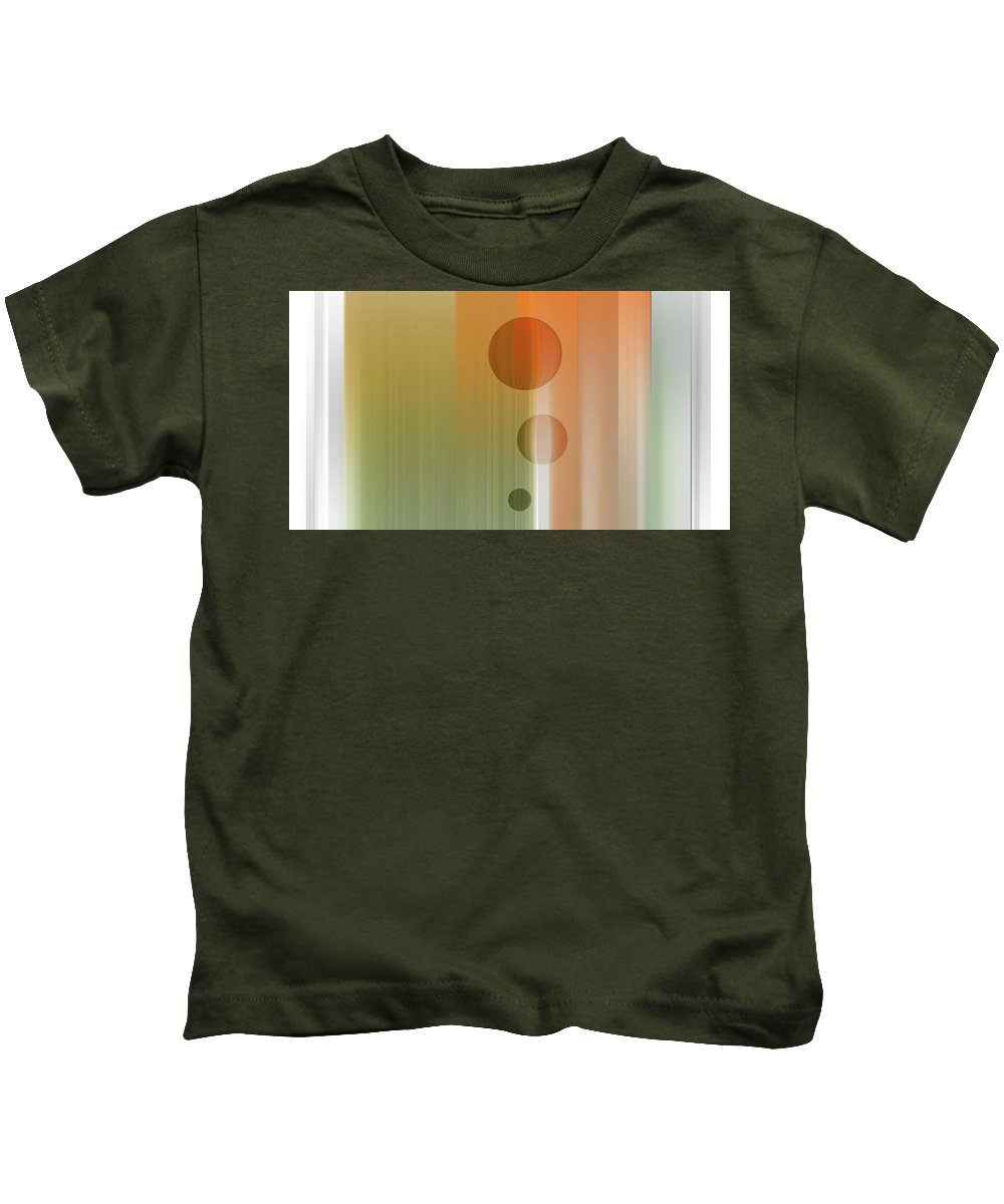 Think Kids T-Shirt featuring the digital art Thinking by Are Lund