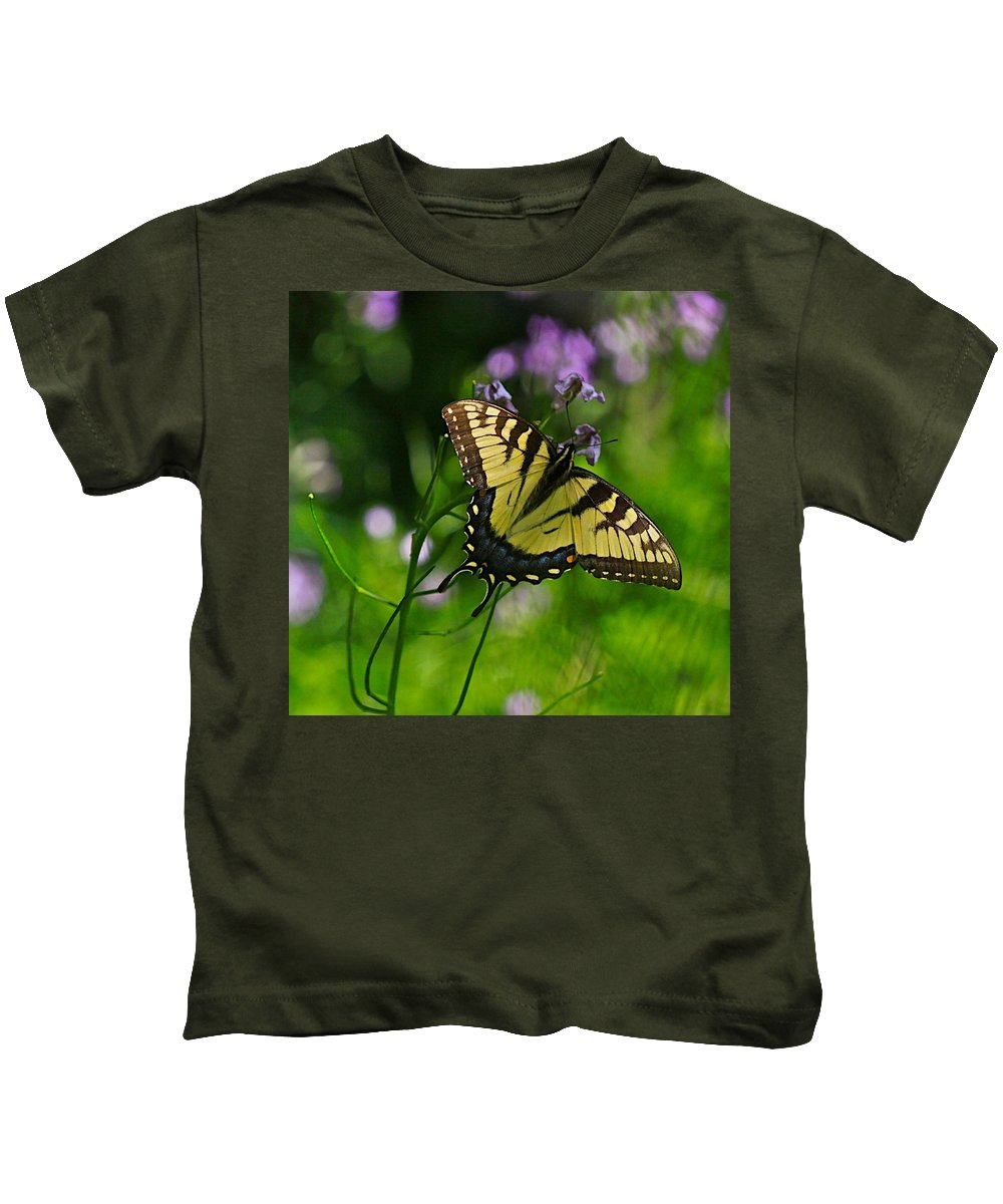 Related Tags: Butterfly Artwork Kids T-Shirt featuring the photograph Tiny Wings by Robert Pearson