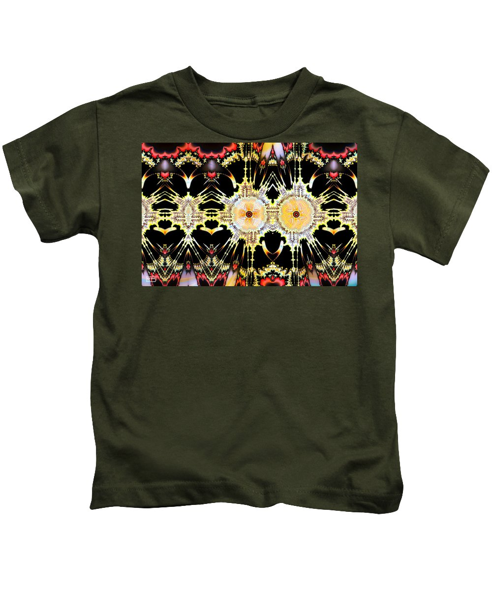 Abstract Kids T-Shirt featuring the digital art Tommyknockers by Jim Pavelle