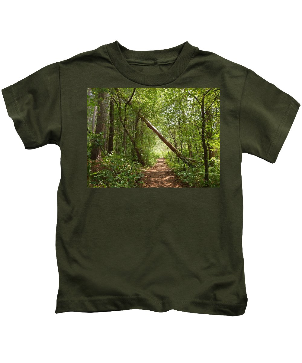 Duluth Kids T-Shirt featuring the photograph Treasure Trove by Alison Gimpel