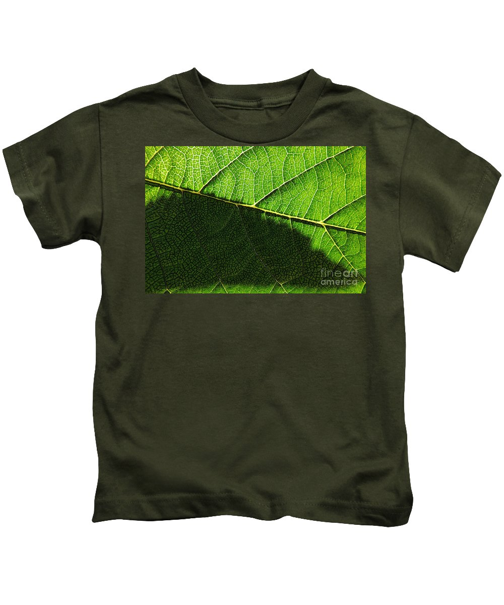 Abstract Kids T-Shirt featuring the photograph Transparence 20 by Jean Bernard Roussilhe