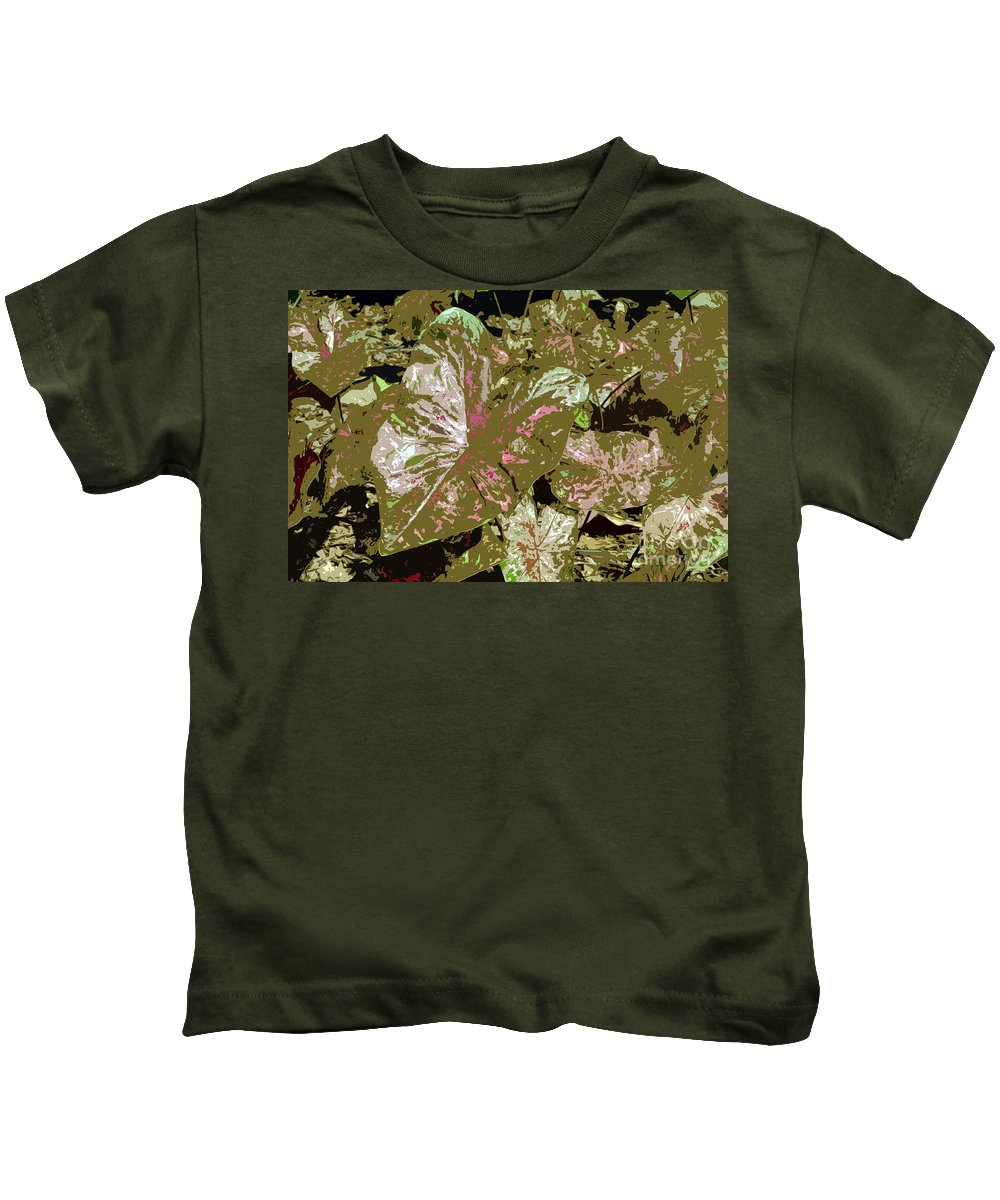 Tropical Kids T-Shirt featuring the photograph Tropicals by David Lee Thompson