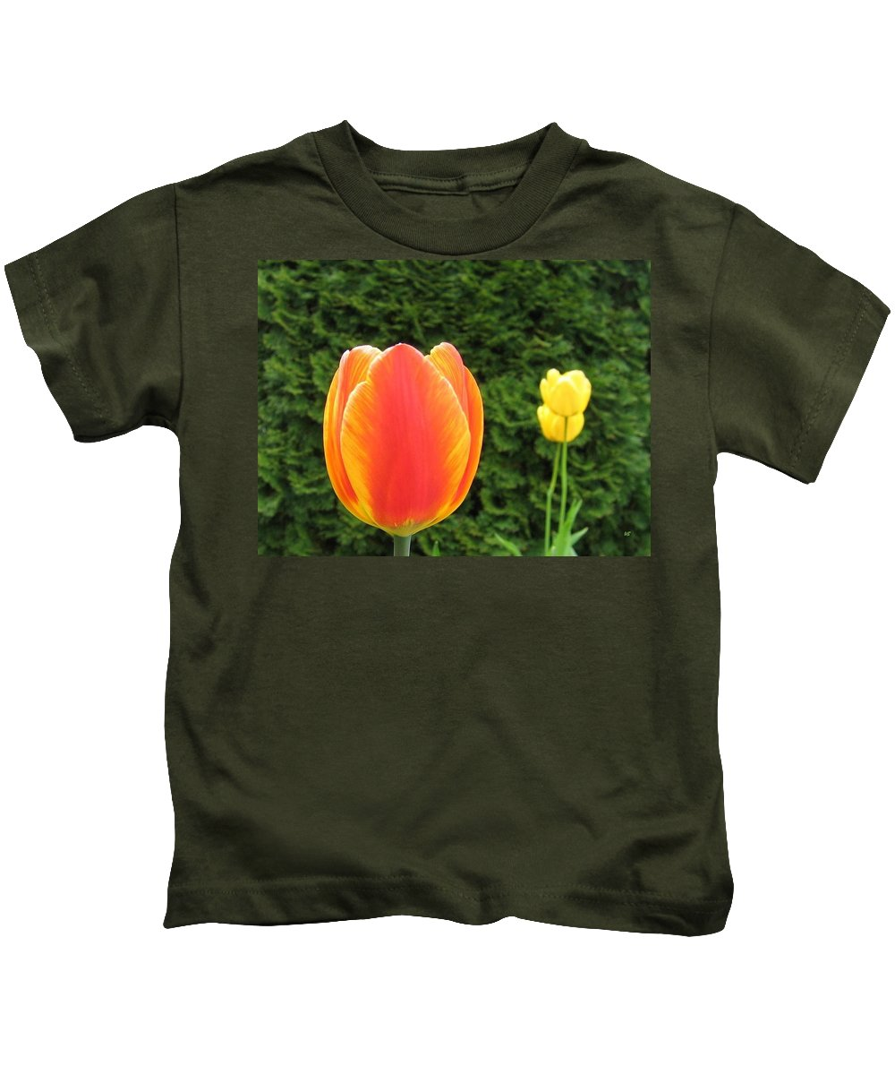Tulips Kids T-Shirt featuring the photograph Tulipfest 4 by Will Borden