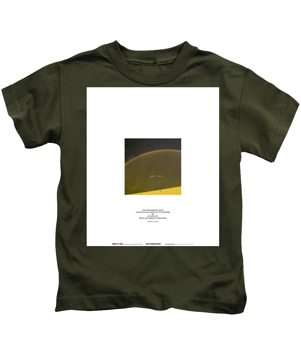 #things Not Seen Kids T-Shirt featuring the photograph Two Possibilities by Anka Wong