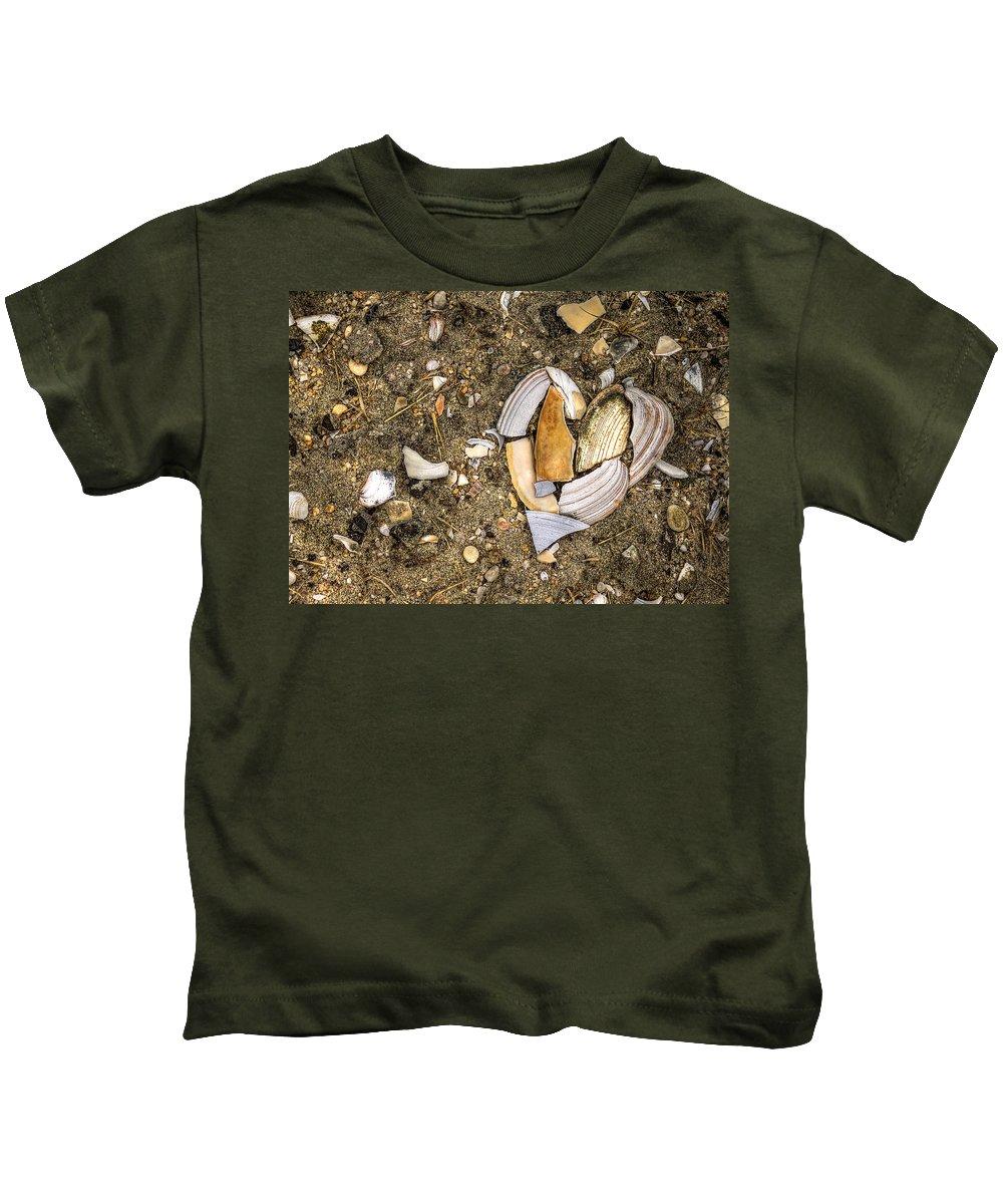 Beach Kids T-Shirt featuring the photograph Unbreak My Heart by Evelina Kremsdorf
