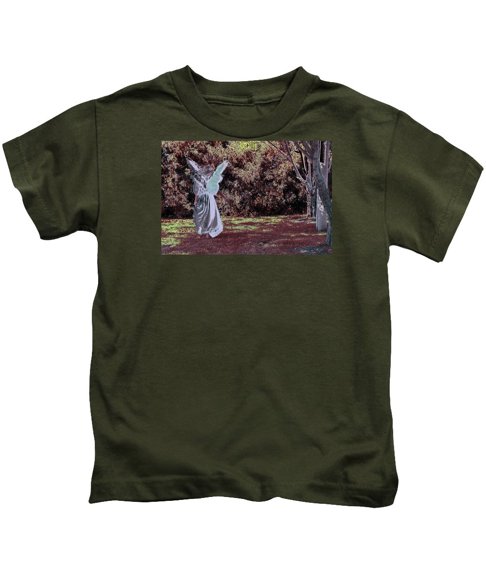 Kids T-Shirt featuring the photograph W3 by Terry Wiklund