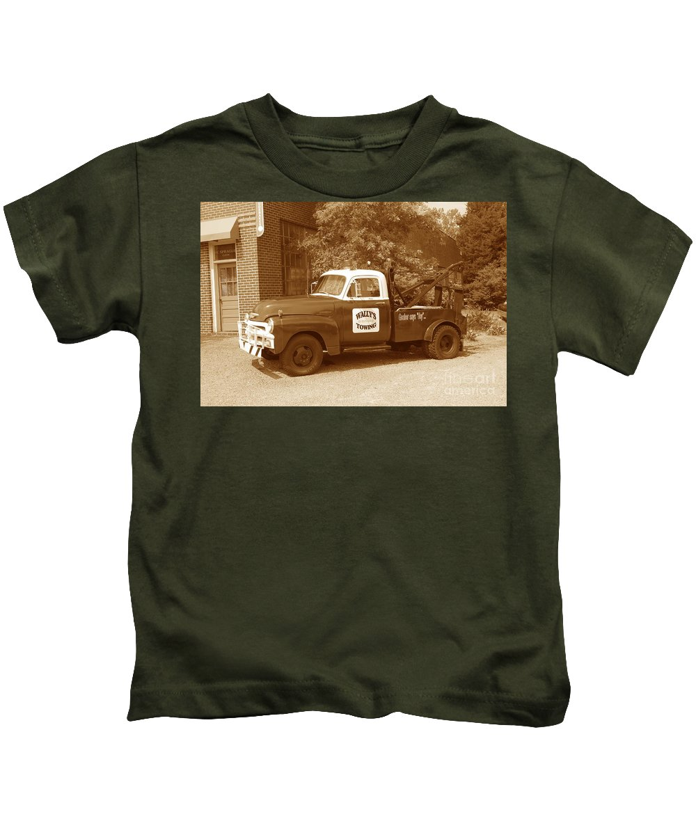 Antique Kids T-Shirt featuring the photograph Wally by Eric Liller