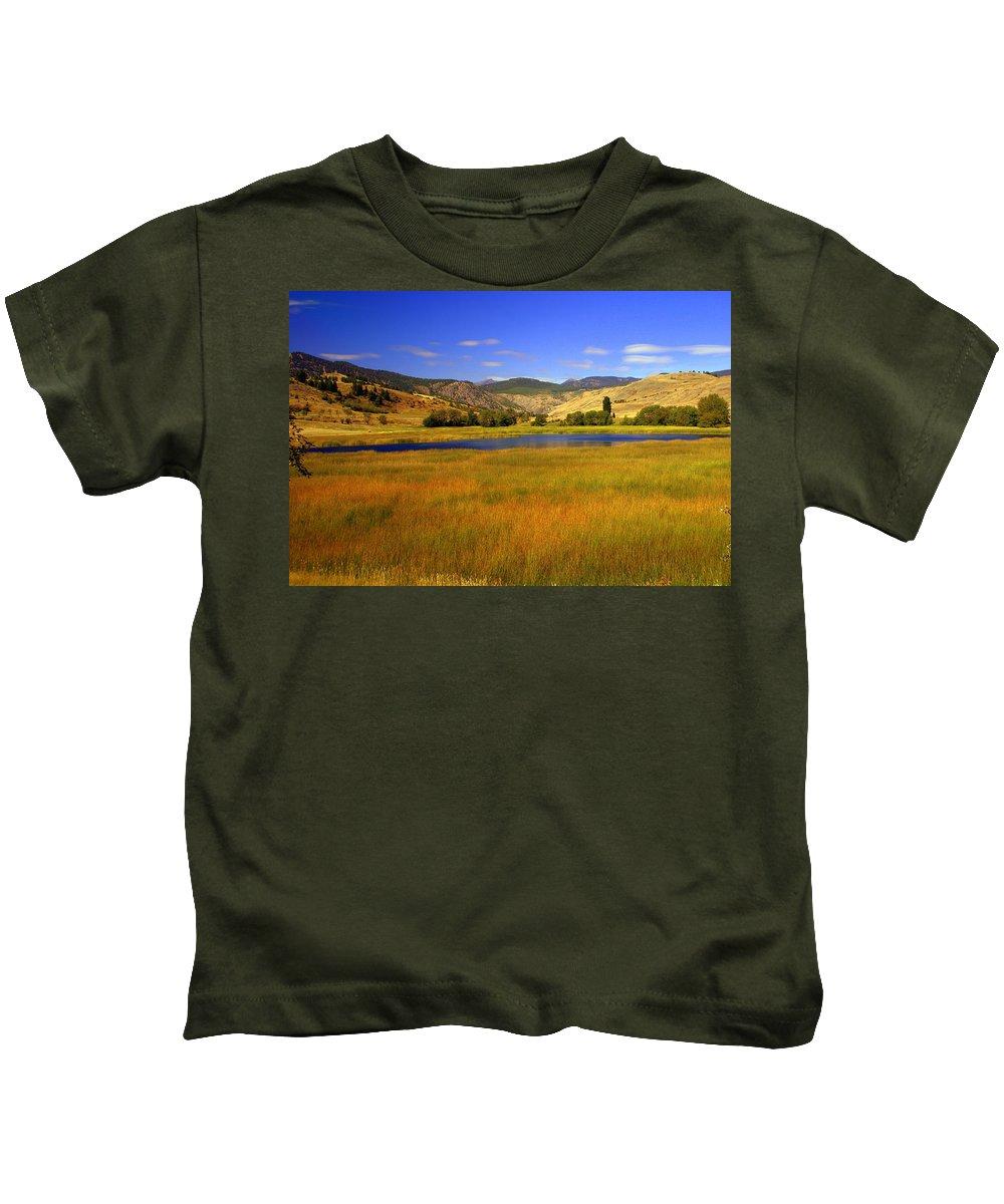 Landscape Kids T-Shirt featuring the photograph Washington Landscape by Marty Koch