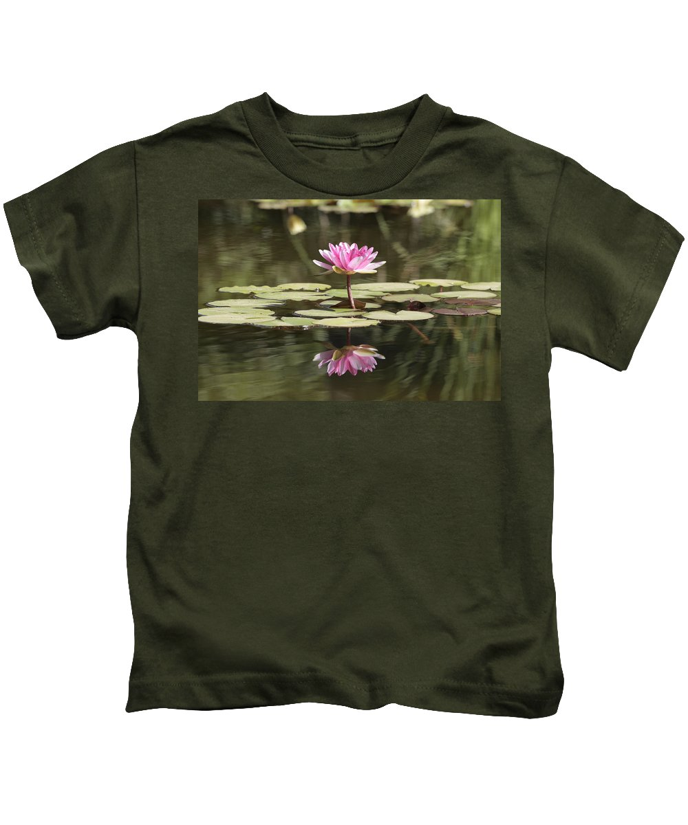Lily Kids T-Shirt featuring the photograph Water Lily by Phil Crean