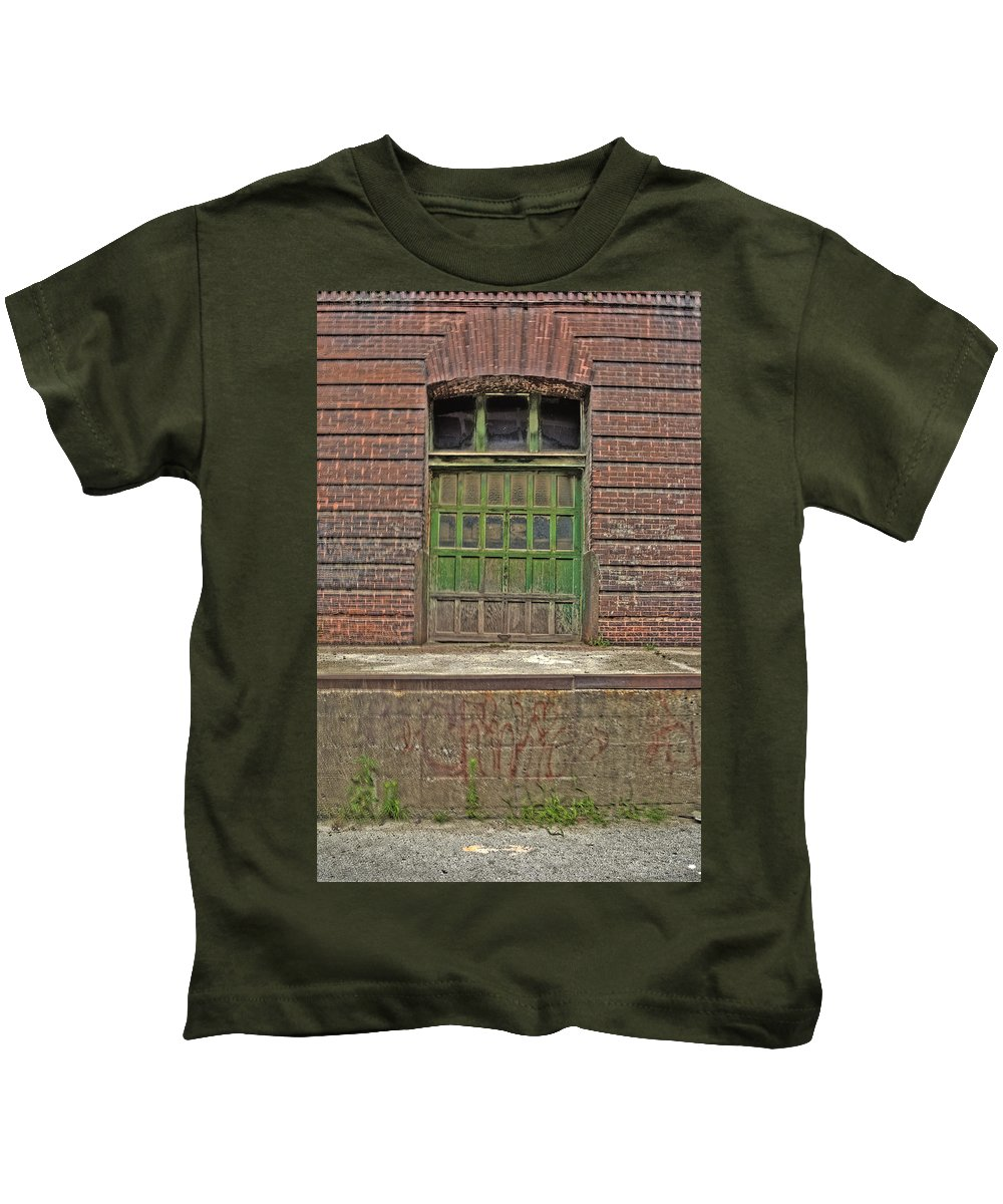 Hdr Kids T-Shirt featuring the photograph West Bottoms 7723 by Timothy Bischoff