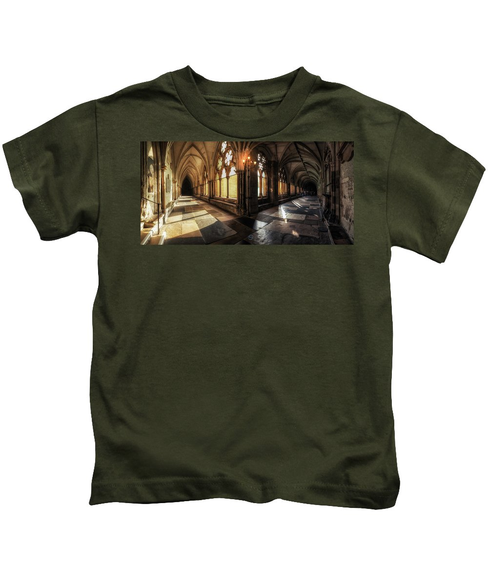 Westminster Kids T-Shirt featuring the photograph Westminster Abbey by Sergio Nevado