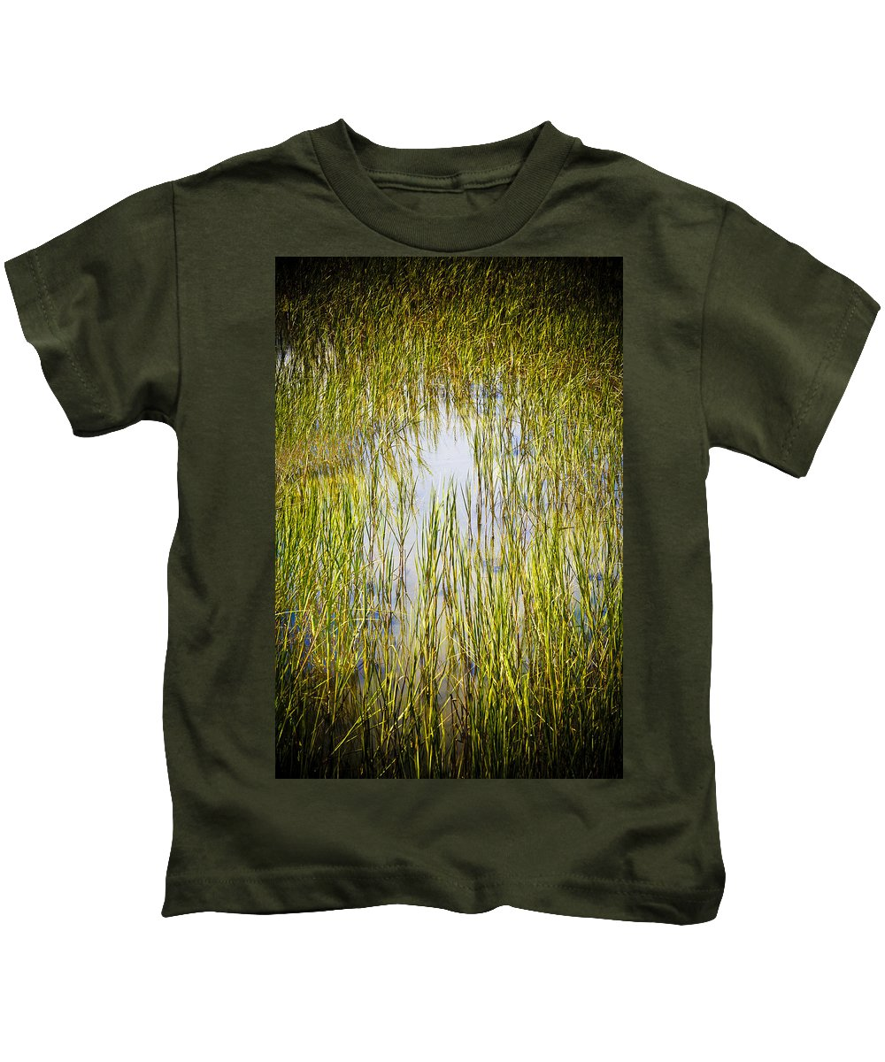 Wetlands Kids T-Shirt featuring the photograph Wetlands by Marilyn Hunt