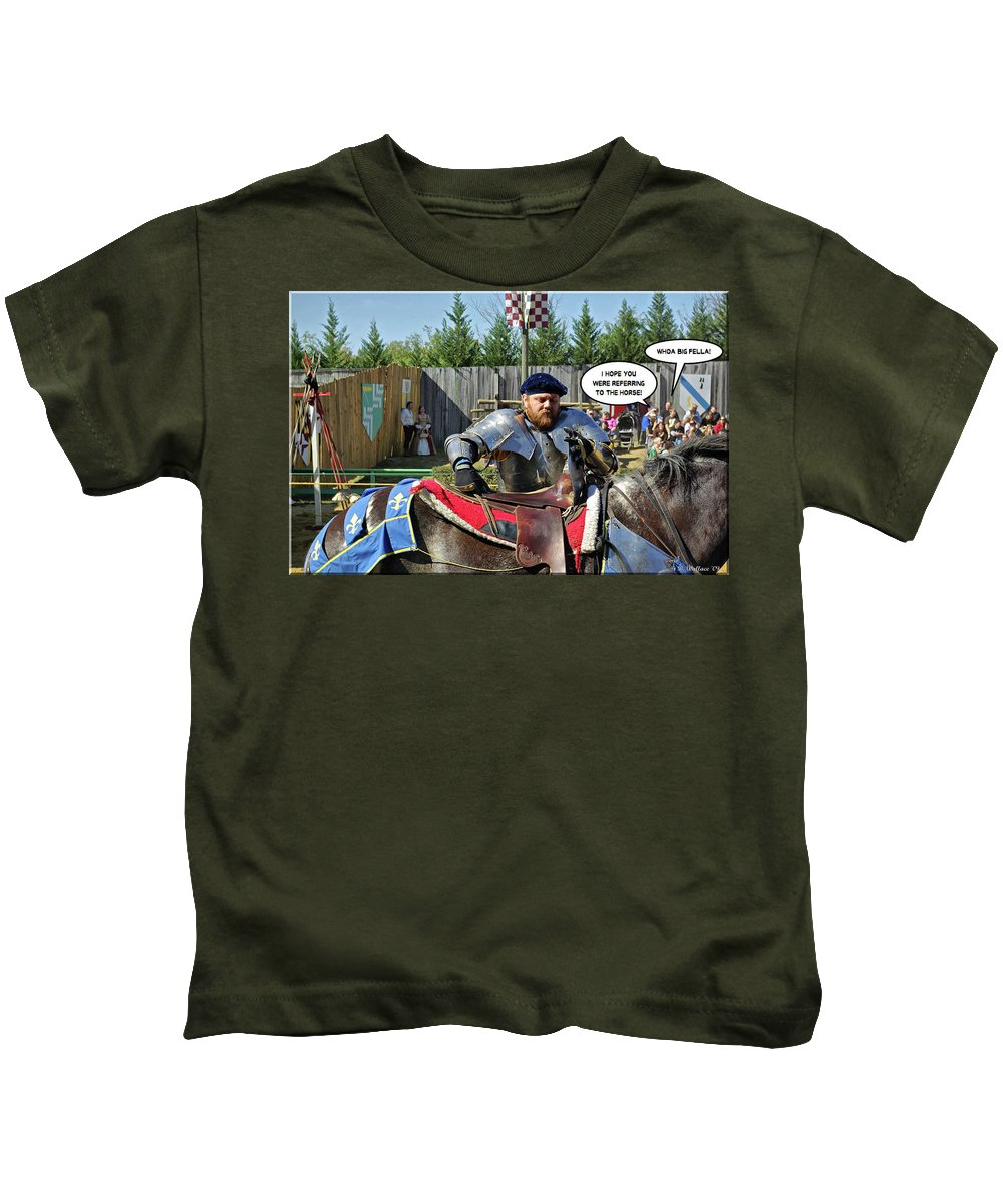 2d Kids T-Shirt featuring the photograph Whoa Big Fella by Brian Wallace