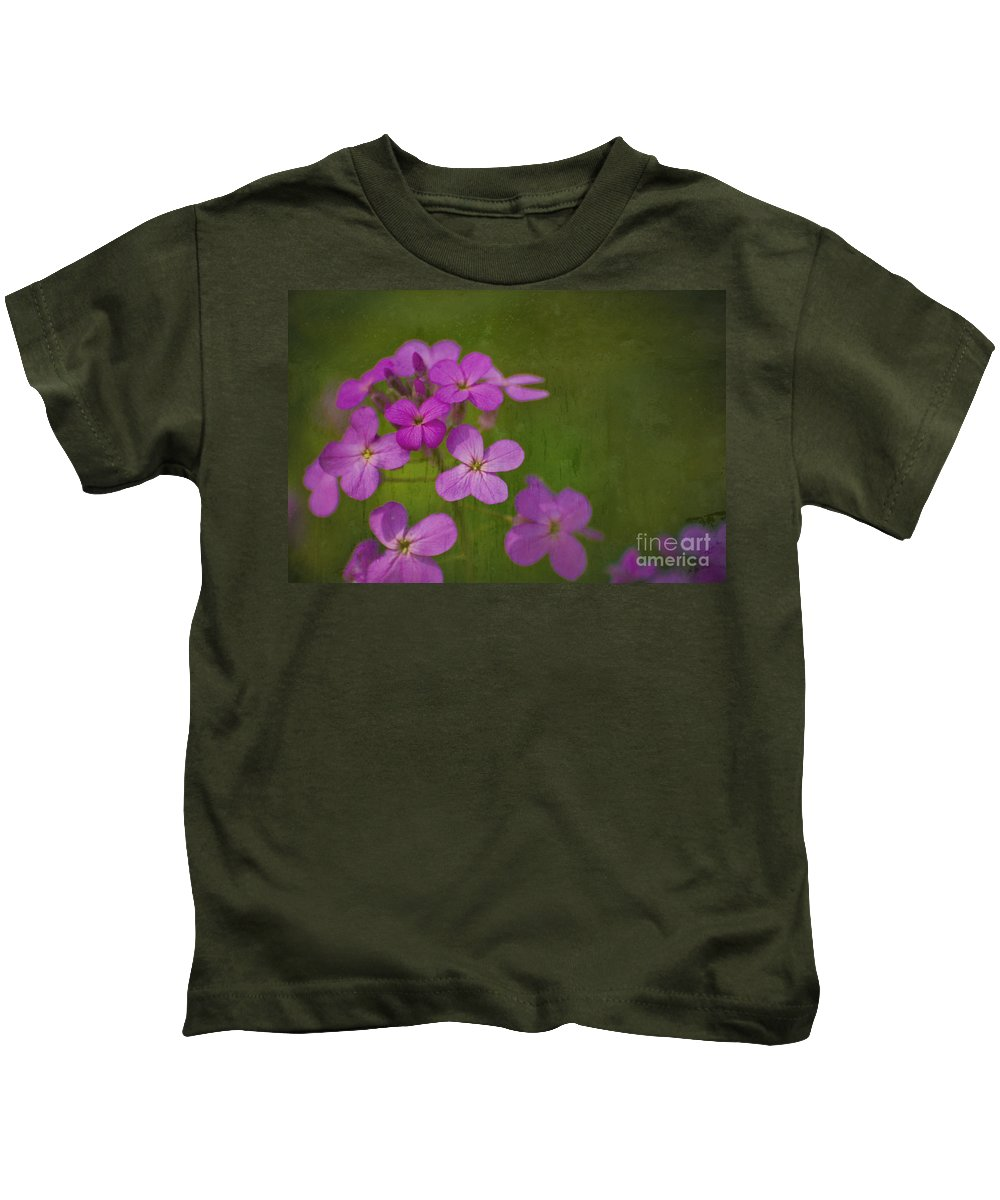 Flowers Kids T-Shirt featuring the photograph Wild And Wonderful by Tony Bazidlo