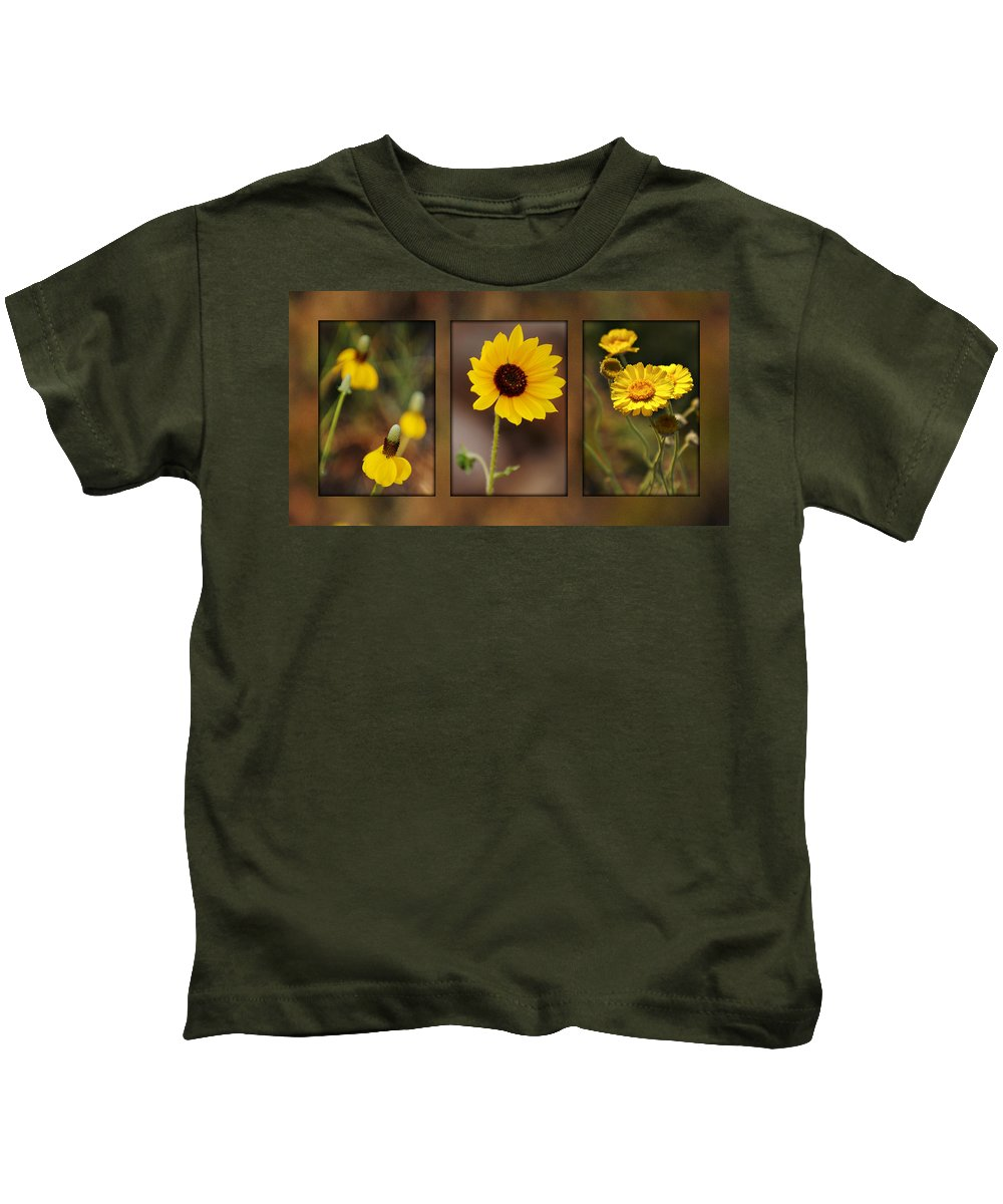 Wildflower Kids T-Shirt featuring the photograph Wildflower 3 by Jill Reger