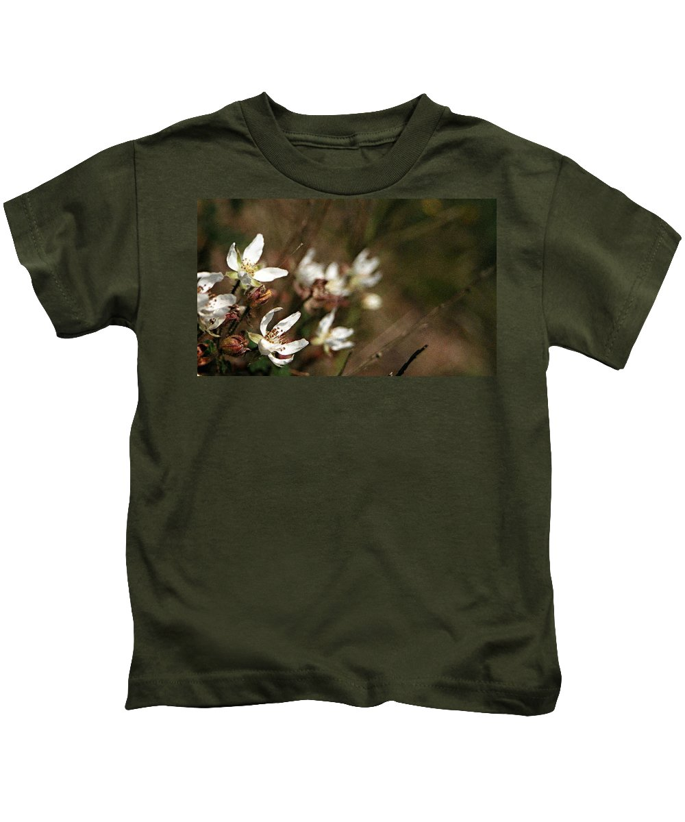 Wildflowers Kids T-Shirt featuring the photograph Wildflowers by Marna Edwards Flavell